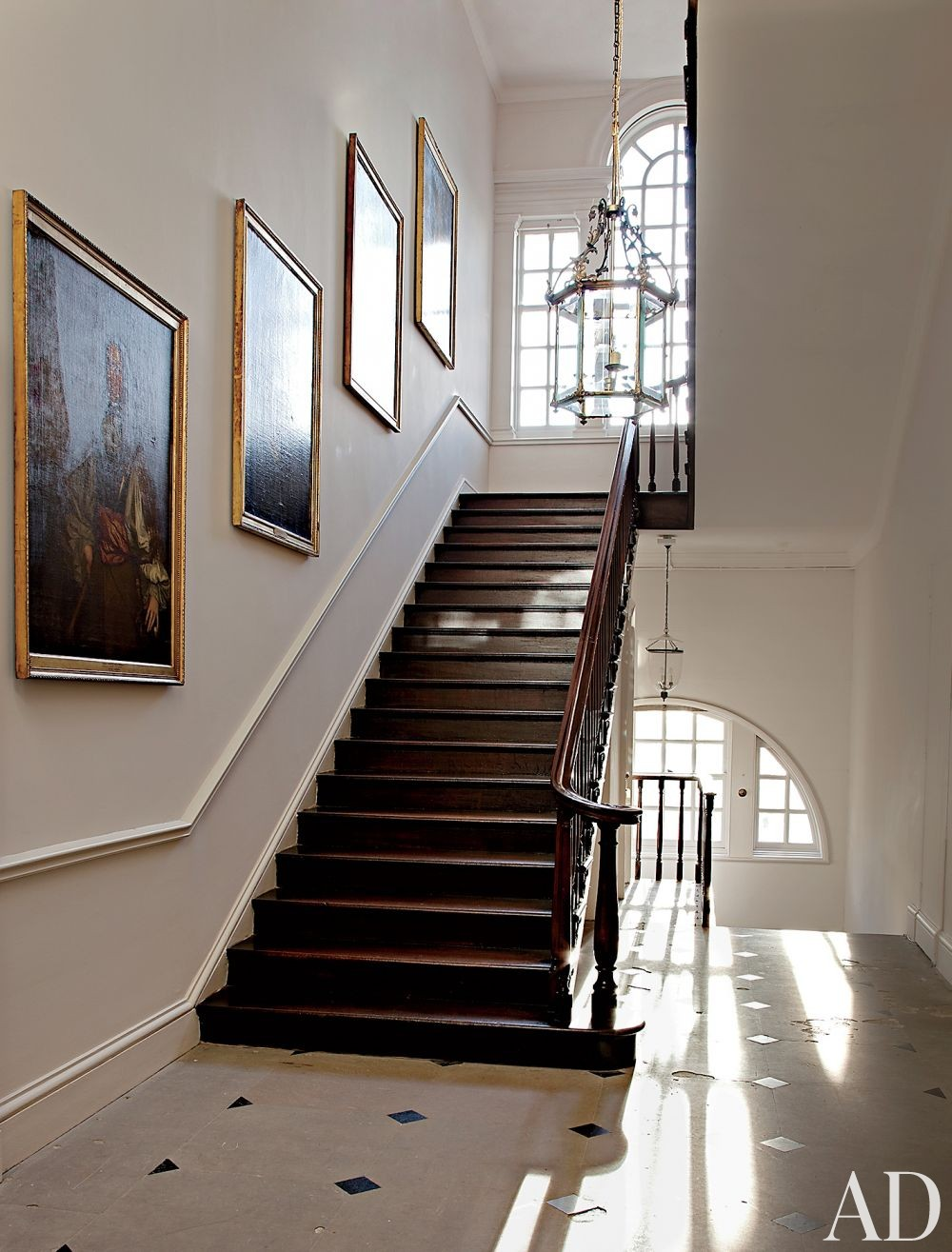 Traditional Staircase/Hallway in Ayrshire, Scotland