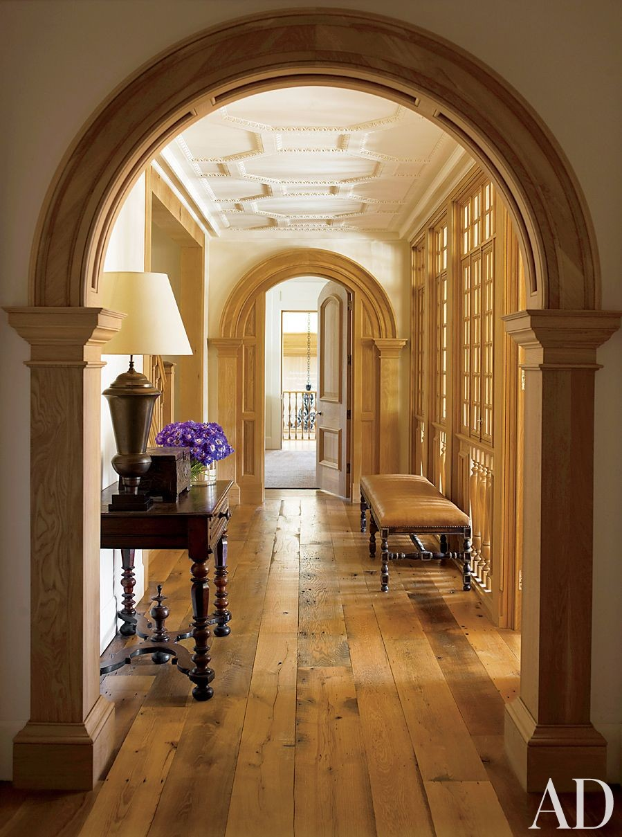 Traditional Staircase/Hallway by David Kleinberg Design Associates and Atelier & Co in Philadelphia, Pennsylvania