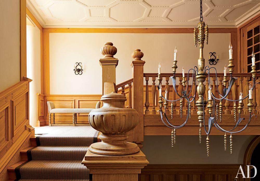 Traditional Staircase/Hallway by David Kleinberg Design Associates and Atelier & Co in Philadelphia, Pennsylvania