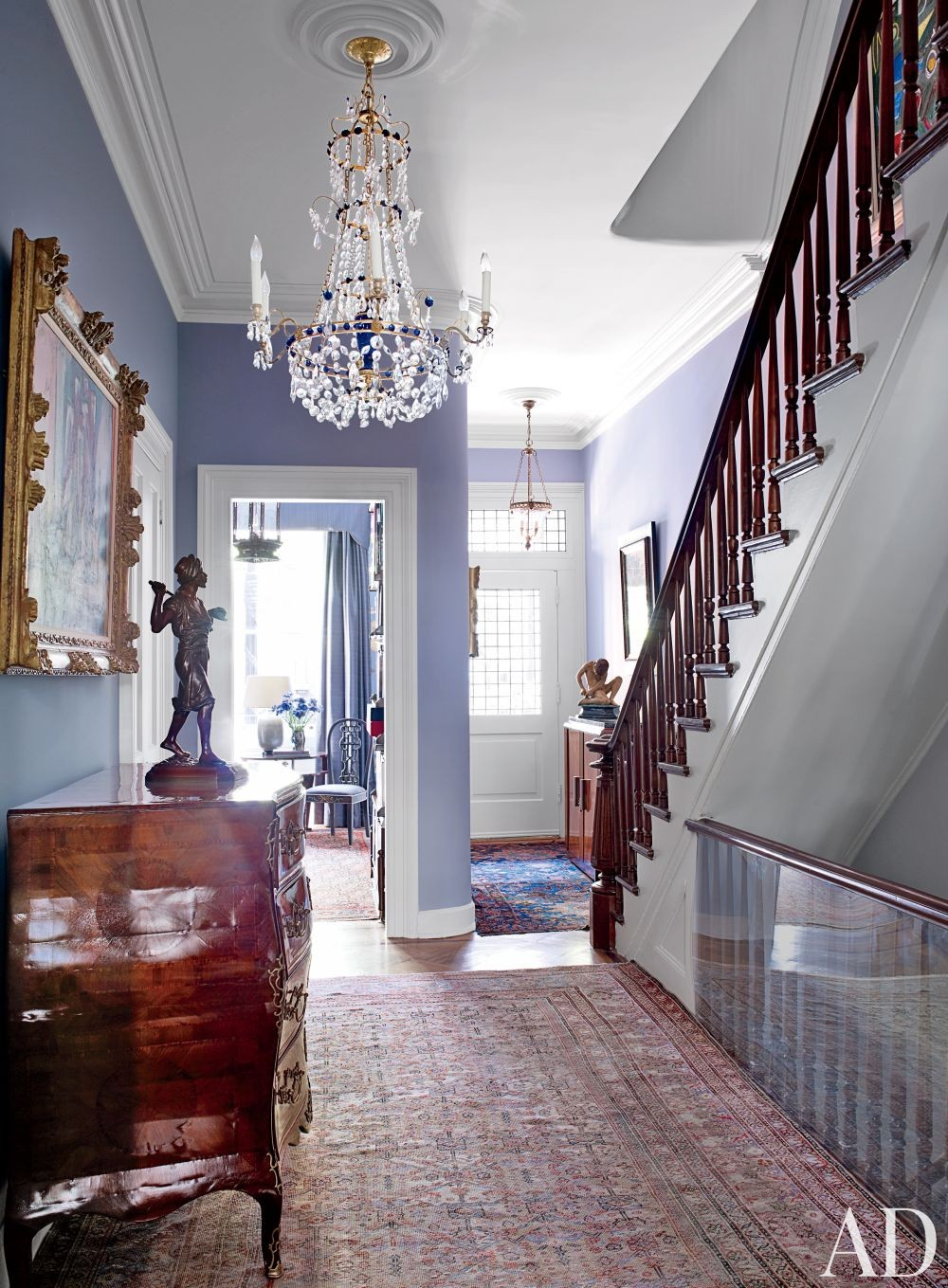 Traditional Staircase/Hallway by McGeehan Design Inc. and Jaklitsch/Gardner  Architects in New York, New York