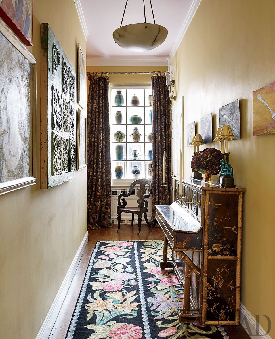Traditional Staircase/Hallway by Rain Phillips in New York, New York
