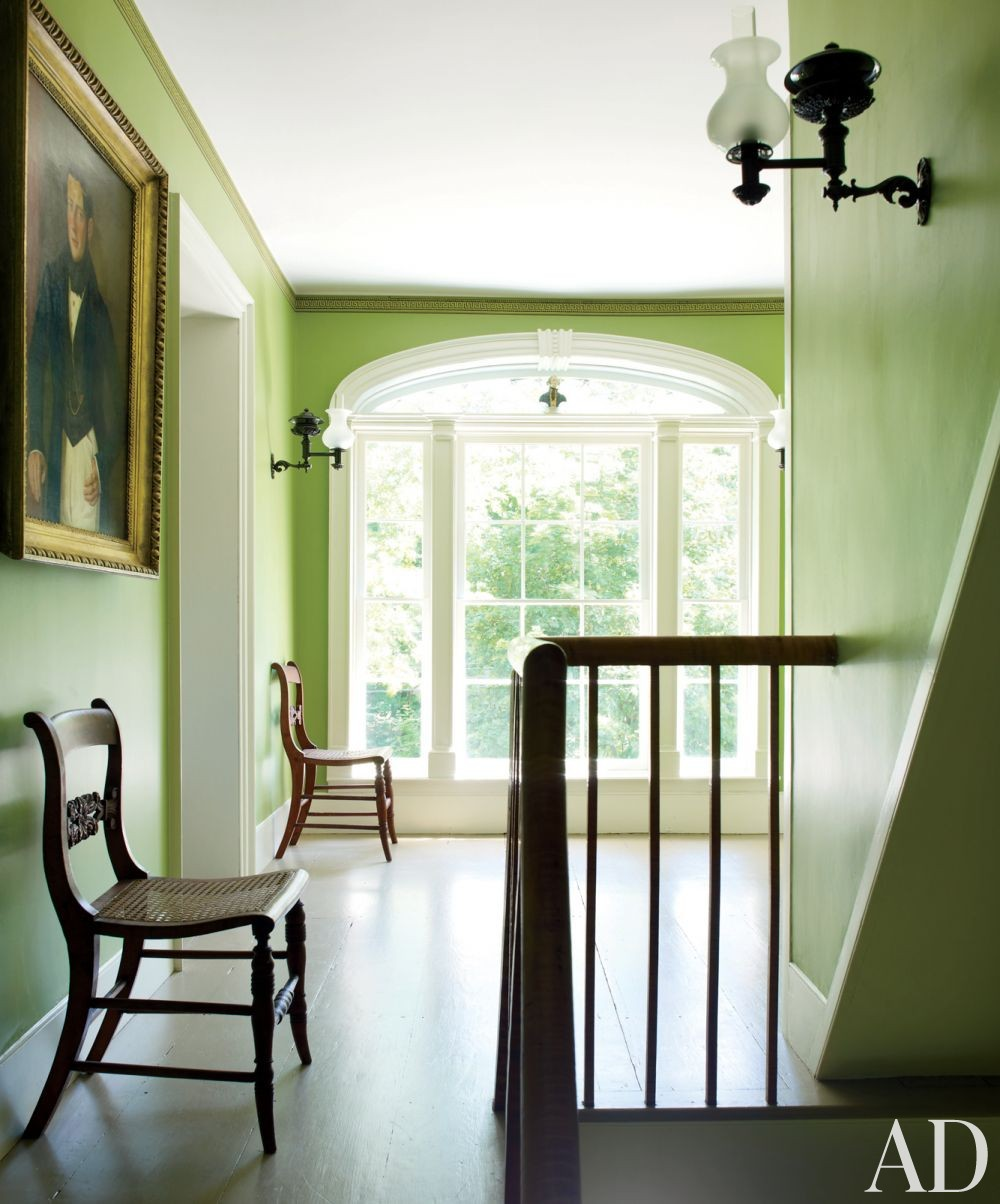Traditional Staircase/Hallway by Shostak & Co. Inc in Claverack, New York