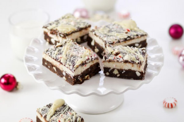 Peppermint Bark Brownies Photo