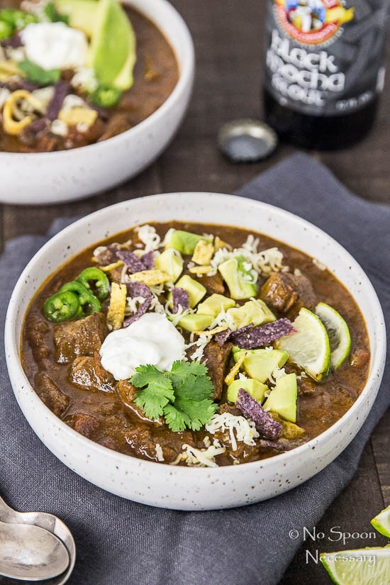 Short Rib Chili with Chocolate Stout - Slow Cooker-59