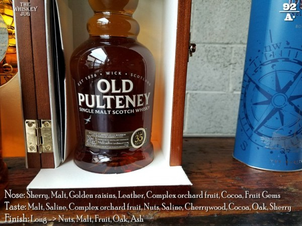 Old Pulteney 35 Review