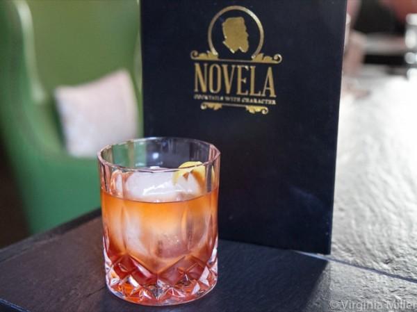 Novela's Reserve Menu Vieux Carre