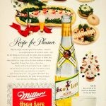 vintage ad miller high life beer