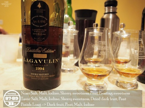 Lagavulin Distillers Edition 1994 Review