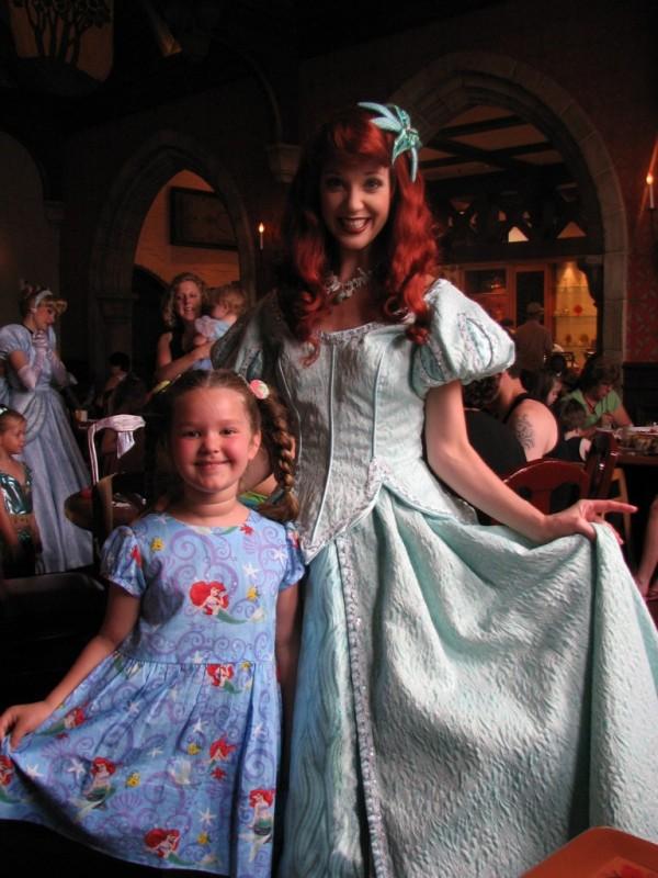 Ariel-Princess-Dining