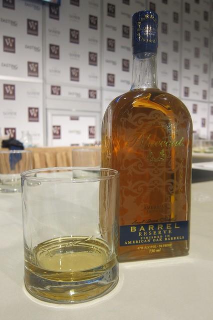 Bluecoat barrel-finished gin