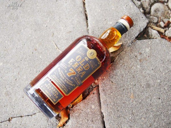 Old Ezra 7 Years Barrel Strength Bourbon