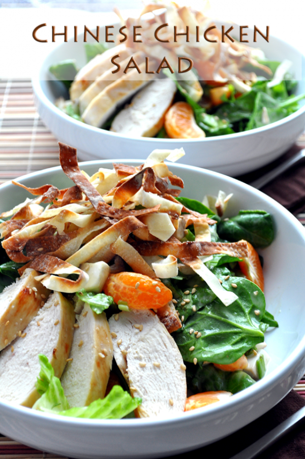 Chinese-y Chicken Salad Recipes — Dishmaps