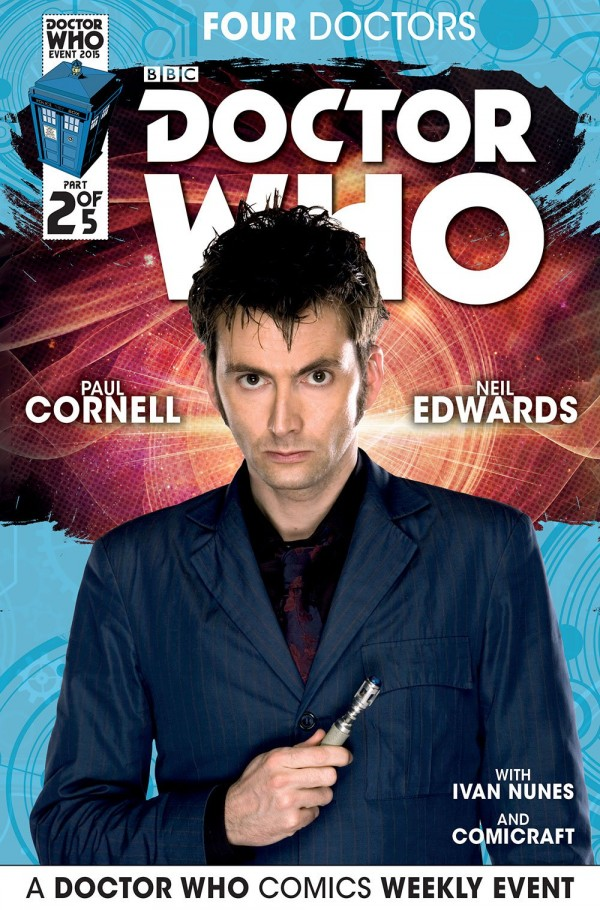 Doctor Who: Four Doctors #2 photo cover