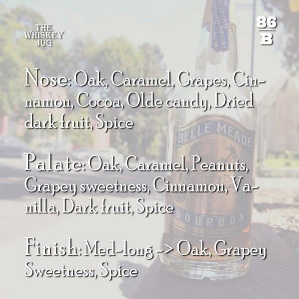 Belle Meade Bourbon XO Cognac Finish Review