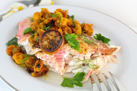 Roasted Tomato + Fennel Snapper | LocalSavour.com