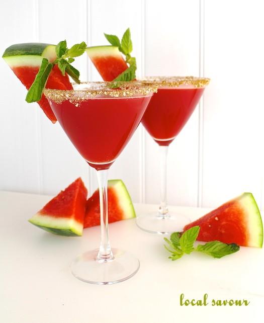 Watermelon Martinis | LocalSavour.com