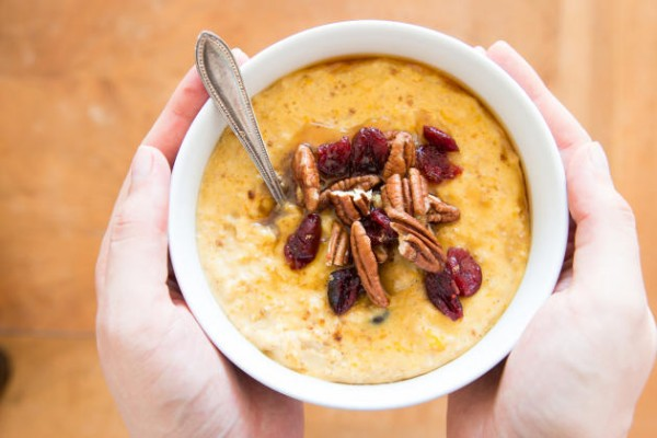 Cranberry Pumpkin Oatmeal Photo