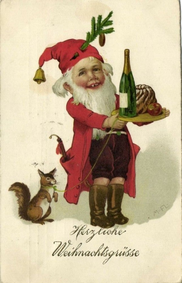 Early 1900s greeting card