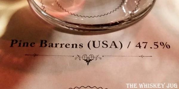 Pine Barrens American Single Malt Label