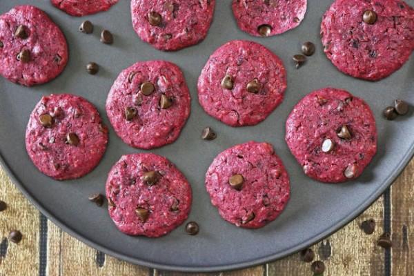 Beet Cookies Photo