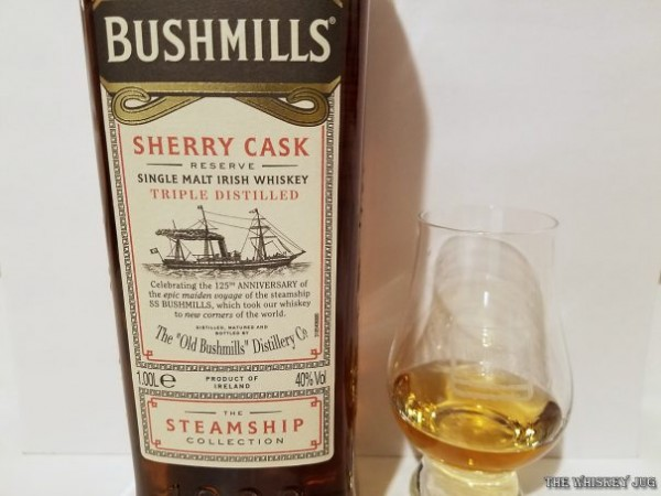 Bushmills Sherry Cask Reserve Color