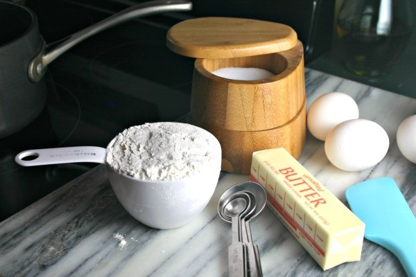 Ingredients for Cream Puffs & Chocolate Custard | Life, Love, and Good Food
