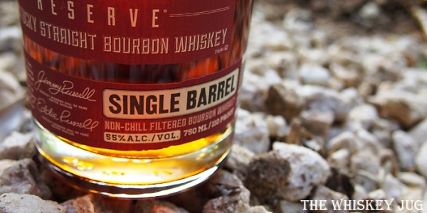 Russell's Reserve Single Barrel 545 Label