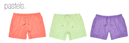 (L to R) All swim shorts from River Island