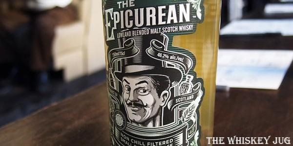 The Epicurean Whisky Label