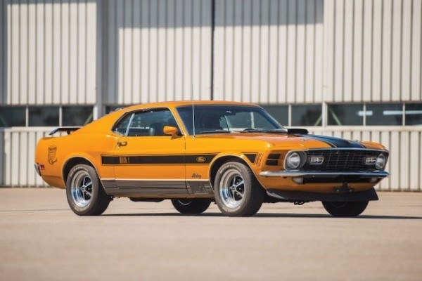 1970 Ford Mustang Mach 1 Twister 16