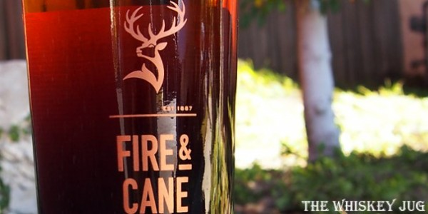 Glenfiddich Fire and Cane Details