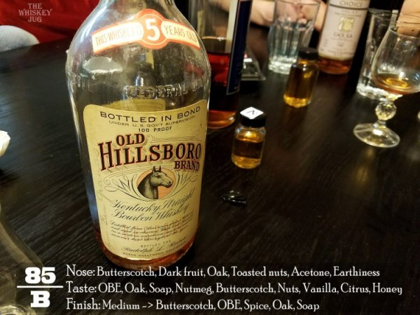 1942 Old Hillsboro Bourbon Review