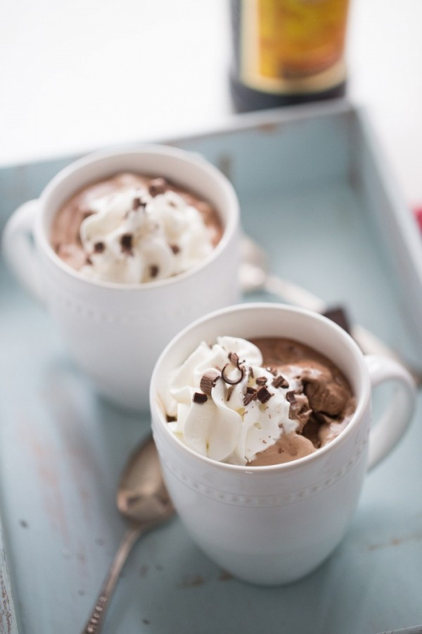 This hot mudslide drink with ice cream is the richest, creamiest hot chocolate you've ever tasted! lemonsforlulu.com