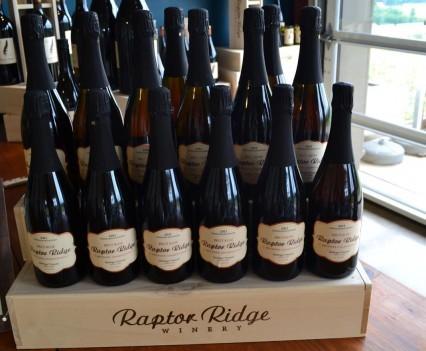 Raptor Ridge Pinot Noir Display