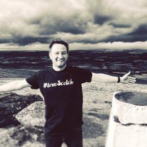 Ewan Gunn embraces the world of Scotch!