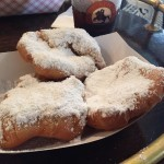Nutrition is important during TOTC! Beignets at Café Beignet, photo Amanda Schuster