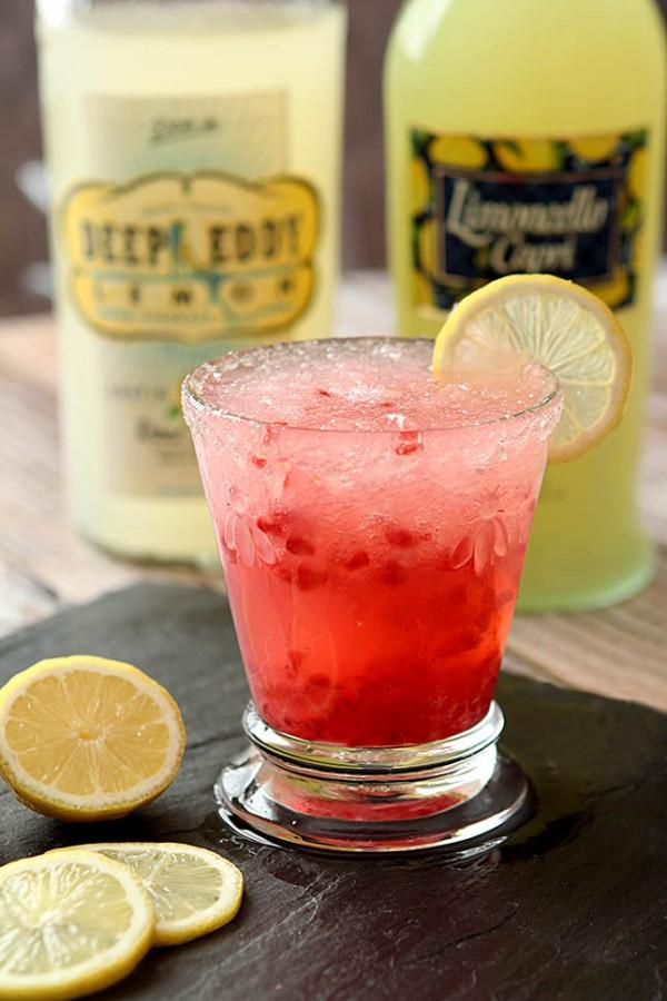 The Pucker Up - Lemon Vodka, Limoncello and Raspberries
