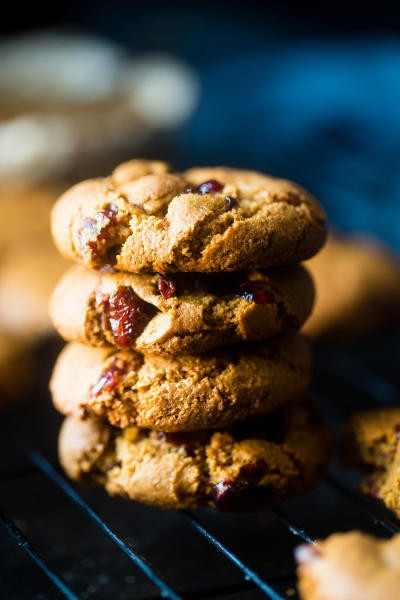 Paleo Cranberry Almond Cookies Pic