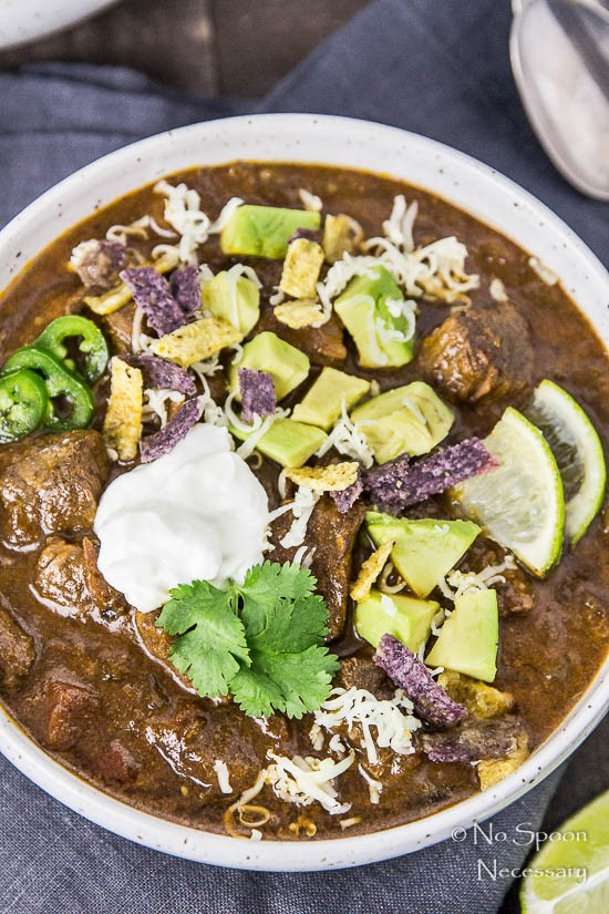 Short Rib Chili with Chocolate Stout - Slow Cooker-79