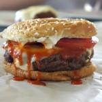 Sriracha Muenster Burger