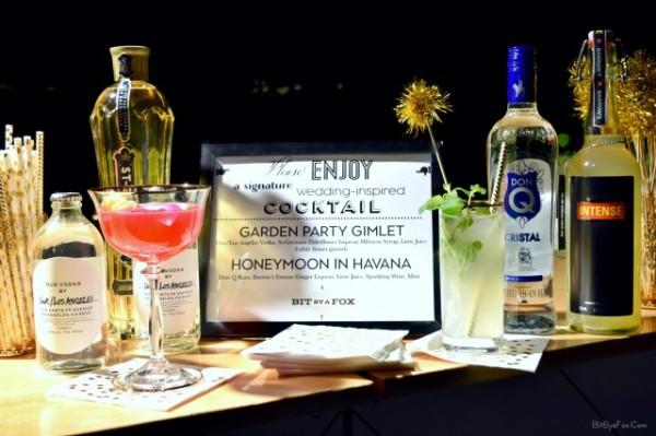 Industry Cocktail Menu