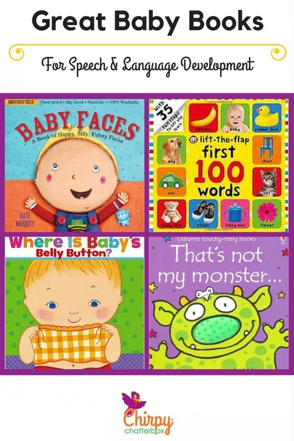 Great Baby Books For Speech & Language Development