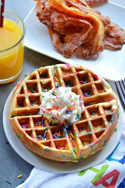 Funfetti Waffles Picture