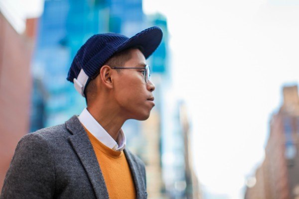 mens corduroy hat
