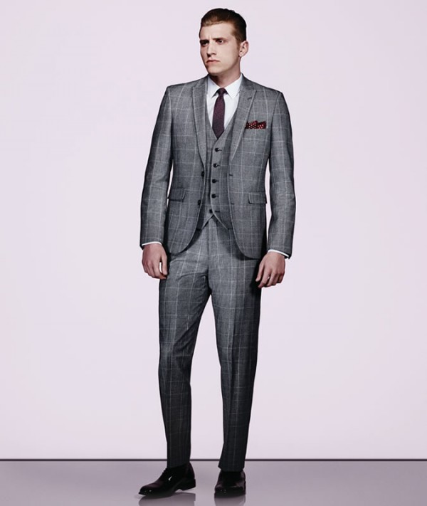 Men's Checked Suit Outfit Inspiration