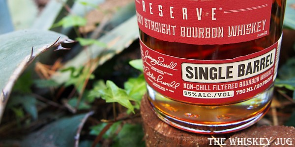 Russell's Reserve Single Barrel 550 Label