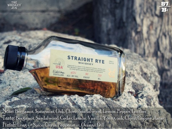 Coppercraft Rye Whiskey Review
