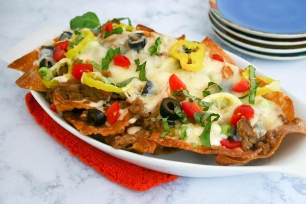 Italian Nachos | Life, Love, and Good Food