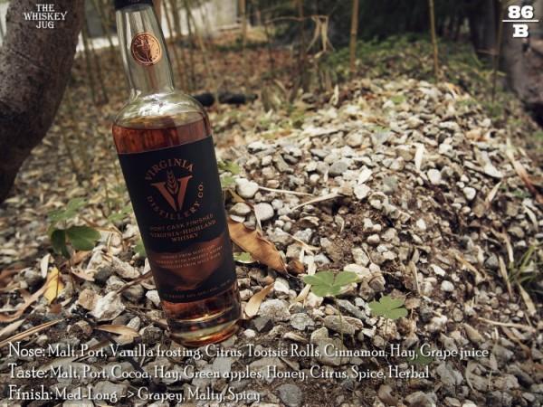 Virgina-Highland Port Finished Whisky Review
