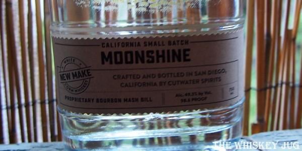 Devil's Share Moonshine Label